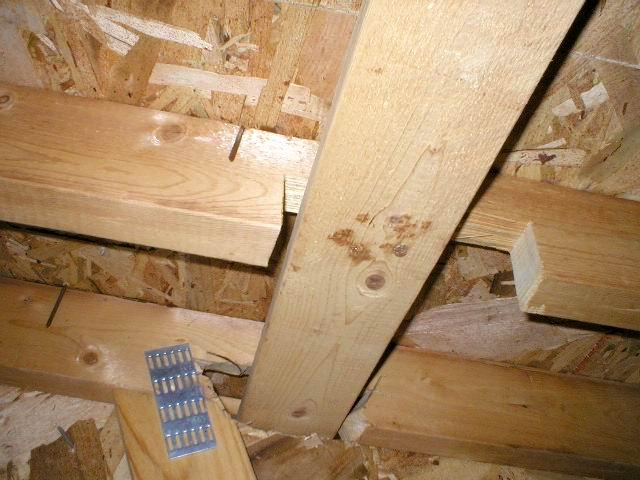Notched Truss Chord Centennial Home Inspection